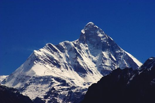Nanda Devi (Image source Wikipedia)