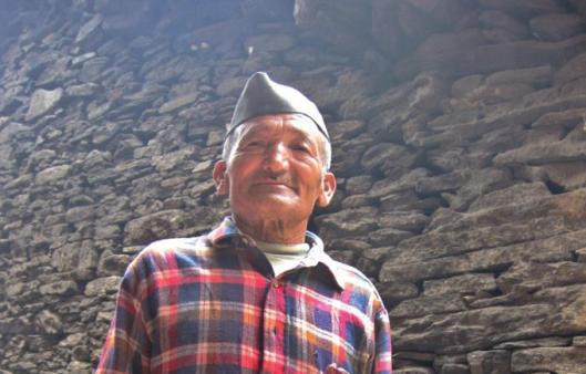 Karthik Rana, an 80-year-old porter who participated in the CIA-IB search operations between 1966 and 1968, but missed the initial climbing expedition to Nanda Devi in 1965.